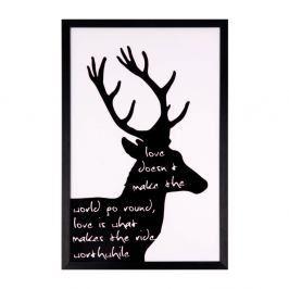 Obraz sømcasa Black Deer, 40 x 60 cm