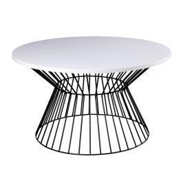 Černobílý konferenční stolek sømcasa Hugo