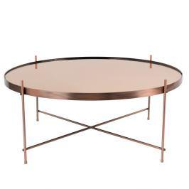 Konferenční stolek v měděné barvě Zuiver Cupid XXL