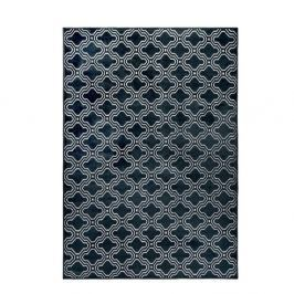 Tmavě modrý koberec White Label Feike, 160x230cm