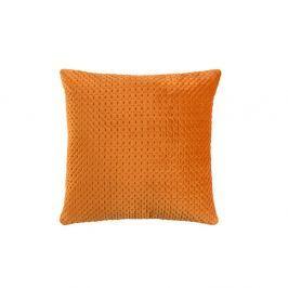 Oranžový polštář White Label Sterre, 45x45cm