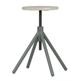 Dřevěná stolička se zelenými nohami De Eekhoorn Lily