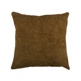 Hnědý polštář De Eekhoorn Belle, 45x45cm