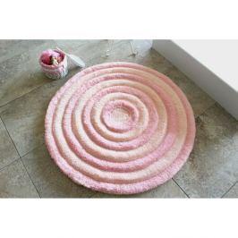 Koupelnová předložka Round Powder, ⌀ 90 cm