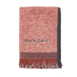 Sada 2 červených ručníků Marie Claire Colza, 40x60cm