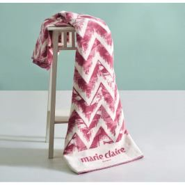 Růžová deka z edice Marie Claire Moody, 130 x 170 cm