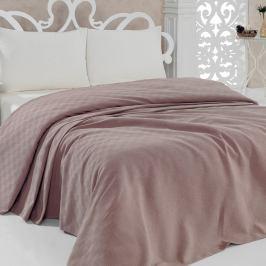 Přehoz přes postel Pique Pink, 160x240 cm