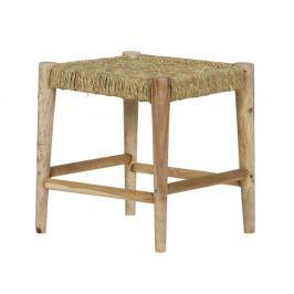 Dřevěná stolička De Eekhoorn Wicker