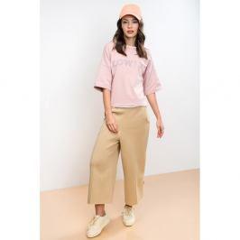 Dámské světle růžové tričko Lull Lowly, vel. L