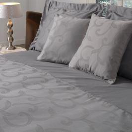 Povlečení Muller Textiels Curls Gris, 140x200cm