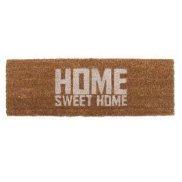 Rohožka s bílým nápisem PT LIVING Home Sweet Coir, 75x26cm