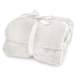 Krémová deka z mikrovlákna DecoKing Mic, 220 x 240cm