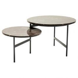 Konferenční stolek s deskou z mramoru Kare Design Emperor