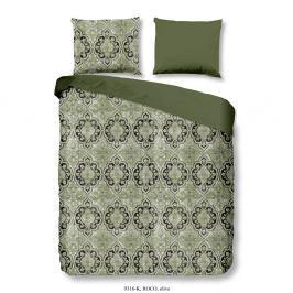 Povlečení na dvoulůžko z bavlněného saténu Muller Textiels Drumo, 200 x 240 cm