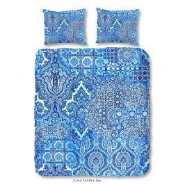 Povlečení na dvoulůžko z bavlněného saténu Muller Textiels Entrada, 200 x 240 cm