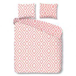 Růžové povlečení na jednolůžko z bavlny Good Morning Premento Frits,140x200cm