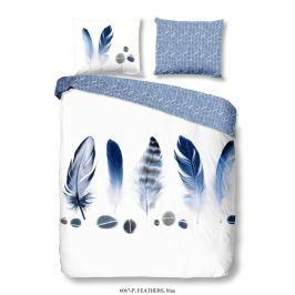 Dětské povlečení na jednolůžko z čisté bavlny Good Morning Feathers, 140 x 200 cm