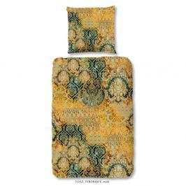 Povlečení na jednolůžko z bavlněného saténu Muller Textiels Prasila, 140 x 200 cm