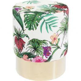 Stolička Kare Design Cherry, Jungle ∅35cm