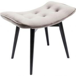 Šedá stolička Kare Design Vicky Velvet