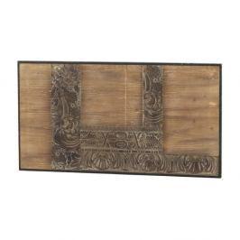 Dřevěné čelo postele Geese Fionne, 110x60cm