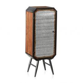 Skříňka s kovovými nohami Geese Duke, výška 106 cm