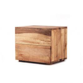 Noční stolek z olejovaného olšového dřeva Mazzivo Borgo