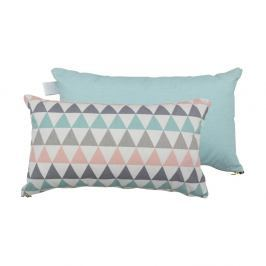 Sada 2 polštářů s výplní Karup Deco Cushion Pastel Trinity/Peppermint,45 x 25 cm