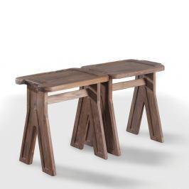 Stolička z ořechového dřeva Wewood - Portuguese Joinery Multibanqueta
