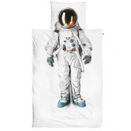 Bavlněné povlečení na jednolůžko Snurk Astronaut, 140x200cm