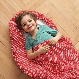 Dětský spací pytel Bartex Design Srdíčka, 70x200cm