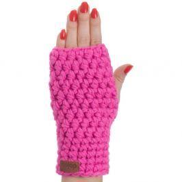 Růžová ručně háčkované návleky DOKE Hailey