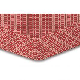 Prostěradlo z mikrovlákna DecoKing Hypnosis Triangles Dalia, 120x200cm