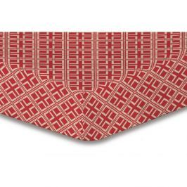Prostěradlo z mikrovlákna DecoKing Hypnosis Triangles Dalia, 200x220cm