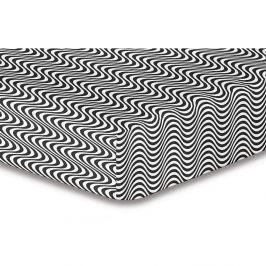 Prostěradlo z mikrovlákna DecoKing Hypnosis Deerest Mia, 180x200cm