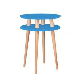 Modrý odkládací stolek Ragaba Ufo, ⌀45cm