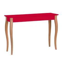 Červený konzolový stolek Ragaba Lillo, šířka105cm