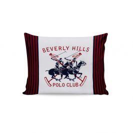 Sada 2 bavlněných povlaků na polštářky Polo Club Red,50x70cm