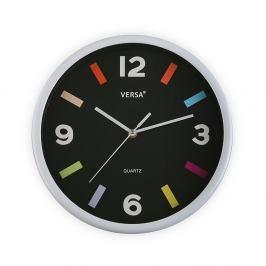 Bílé nástěnné hodiny Versa Moderna