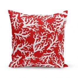 Polštář Kate Louise Red Coral Reef, 43 x 43 cm