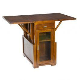 Rozkládací příruční stolek z akáciového dřeva SantiagoPons Acacia