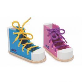 Sada 2 bot na trénink zavazování tkaniček Legler Coloured