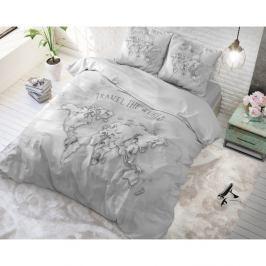 Bavlněné povlečení na jednolůžko Sleeptime World, 140 x 220 cm