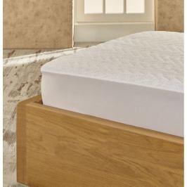 Ochranná bavlněná podložka na postel Helene, 100x200 cm