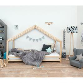 Dětská postel z lakovaného smrkového dřeva Benlemi Sidy, 80 x 190 cm