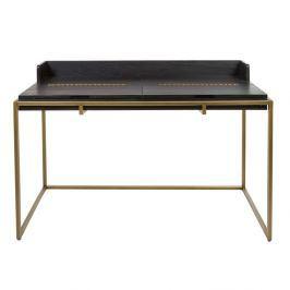 Pracovní stůl z dubové dýhy Santiago Pons Balford