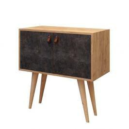 Odkládací stolek se skříňkou Dencia
