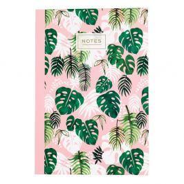Sešit Rex London Tropical Palm, velikost A5