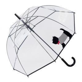 Transparentní holový deštník Ambiance Cute Dog, ⌀85cm