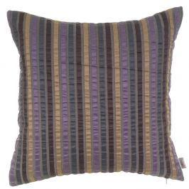 Fialový žakárový povlak na polštář Apolena Gellert, 43 x 43 cm